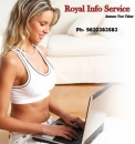 Royal Info Service Offered