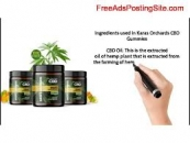 What is the usage of Karas Orchards CBD Gummies UK?